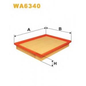 WIX WA6340 Фильтр воздушный WA6340/AP155 (пр-во WIX-Filtron UA)