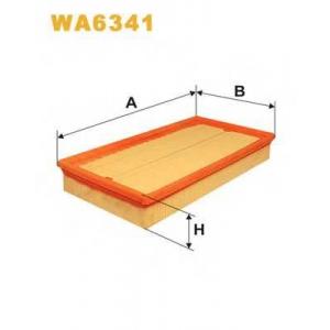 WIX FILTERS WA6341 Фильтр воздушный WA6341/AP156 (пр-во WIX-Filtron)