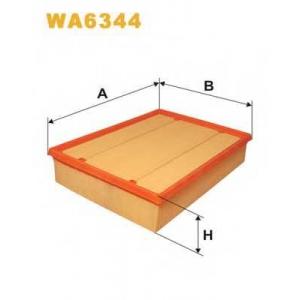 WIX WA6344 Фильтр воздушный VW T4 WA6344/AP157/2 (пр-во WIX-Filtron UA)