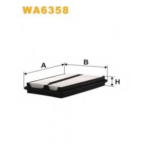 WIXFILTERS WA6358 Фiльтр повiтря 171