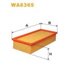 WIX FILTERS WA6365 Фильтр воздушный TOYOTA CARINA WA6365/AP178 (пр-во WIX-Filtron)