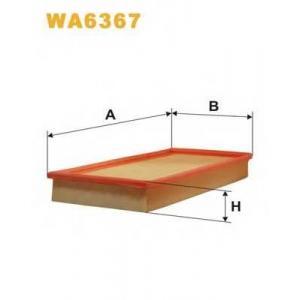 Воздушный фильтр wa6367 wix - MITSUBISHI CARISMA (DA_) Наклонная задняя часть 1.8 16V (DA2A)