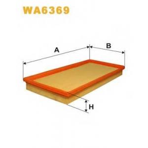 WIX FILTERS WA6369 Фильтр воздушный KIA WA6369/AP182 (пр-во WIX-Filtron)