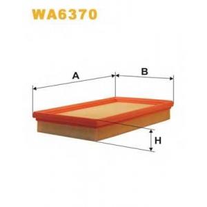 WIX FILTERS WA6370 Фильтр воздушный WA6370/AP182/1 (пр-во WIX-Filtron)