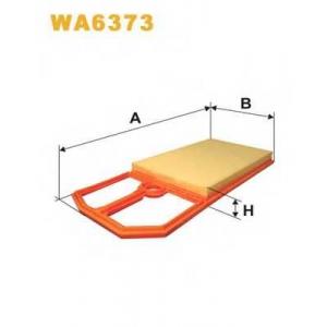 WIX FILTERS WA6373 Фильтр воздушный VW GOLF AP183/WA6373 (пр-во WIX-Filtron)