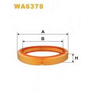 WIX FILTERS WA6378 Фильтр воздушный MB W201 AR036/WA6378 (пр-во WIX-Filtron)