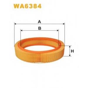 WIX WA6384 Фильтр воздушный OPEL WA6384/AR202 (пр-во WIX-Filtron UA)