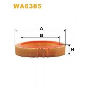 WIX FILTERS WA6385 Фильтр воздушный OPEL ASCONA WA6385/AR203 (пр-во WIX-Filtron)