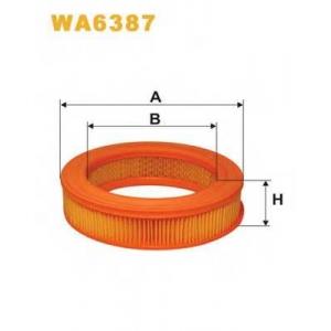 WIX FILTERS WA6387 Фильтр воздушный FORD WA6387/AR205 (пр-во WIX-Filtron)