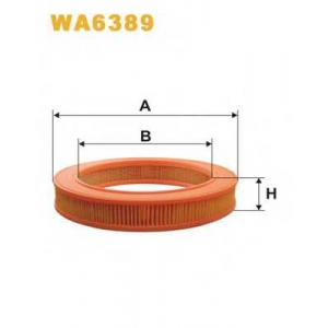 WIXFILTERS WA6389 Фiльтр повiтря 207