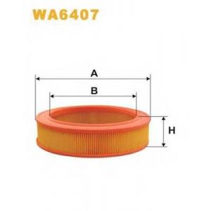 WIX FILTERS WA6407 Фильтр воздушный FORD WA6407/AR226 (пр-во WIX-Filtron)
