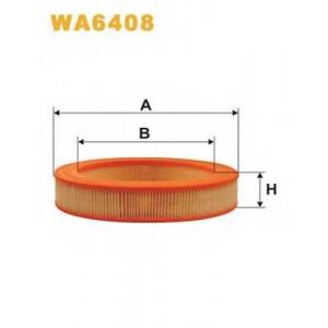 WIX FILTERS WA6408 Фильтр воздушный WA6408/227 (пр-во WIX-Filtron)