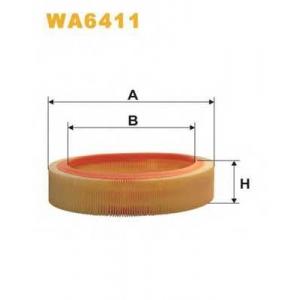 WIX FILTERS WA6411 Фильтр воздушный
