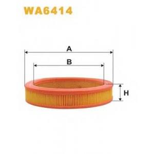 Воздушный фильтр wa6414 wix - FIAT RITMO II (138A) Наклонная задняя часть 60 1.1