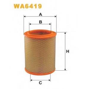 WIX FILTERS WA6419 Фильтр воздушный VOLVO WA6419/AR236 (пр-во WIX-Filtron)