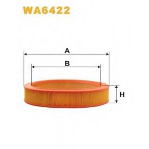 WIX FILTERS WA6422 Фильтр воздушный FORD SCORPIO, SIERRA WA6422/AR238 (пр-во WIX-Filtron)