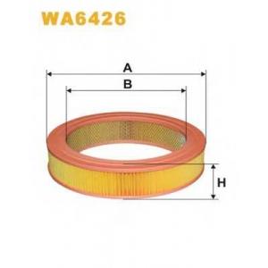 WIX FILTERS WA6426 Фильтр воздушный MAZDA 626 WA6426/AR243 (пр-во WIX-Filtron)