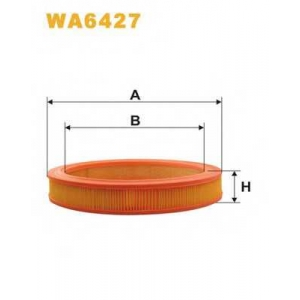 WIX FILTERS WA6427 Фильтр воздушный VOLVO WA6427/AR244 (пр-во WIX-Filtron)