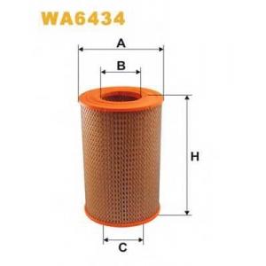 WIX FILTERS WA6434 Фильтр воздушный PEUGEOT WA6434/AR256 (пр-во WIX-Filtron)