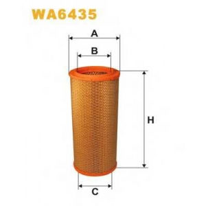 WIX FILTERS WA6435 Фильтр воздушный RENAULT WA6435/AR257 (пр-во WIX-Filtron)