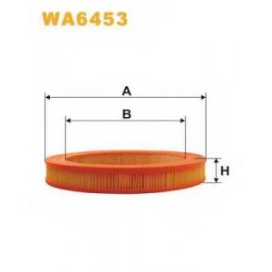 WIX FILTERS WA6453 Фильтр воздушный WA6453/AR272 (пр-во WIX-Filtron)