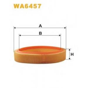 WIX WA6457 Фильтр воздушный RENAULT CLIO WA6457/AR276 (пр-во WIX-Filtron UA)