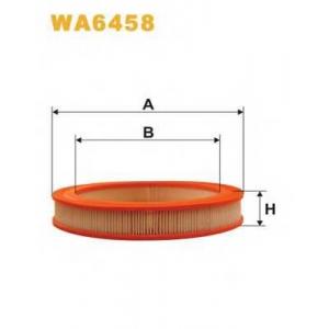 WIX FILTERS WA6458 Фильтр воздушный HONDA CIVIC WA6458/AR278 (пр-во WIX-Filtron)