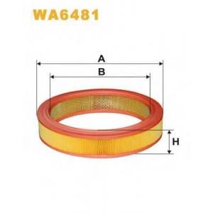 WIX FILTERS WA6481 Фильтр воздушный FORD SCORPIO AR306/WA6481 (пр-во WIX-Filtron)