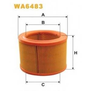 WIX WA6483 Фильтр воздушный CITROEN ZX WA6483/AR308 (пр-во WIX-Filtron UA)