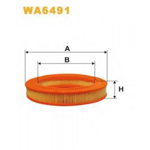 WIXFILTERS WA6491 Фiльтр повiтря 323