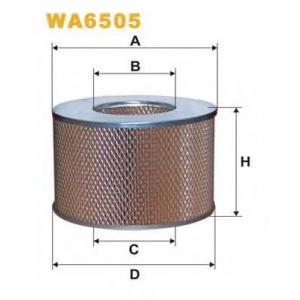 WIX FILTERS WA6505 Фильтр воздушный TOYOTA WA6505/AR352 (пр-во WIX-Filtron)