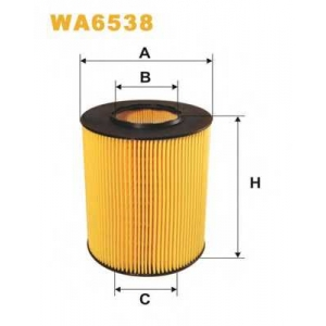 WIX FILTERS WA6538 Фильтр воздушный MERCEDES WA6538/AR327/1 (пр-во WIX-Filtron)