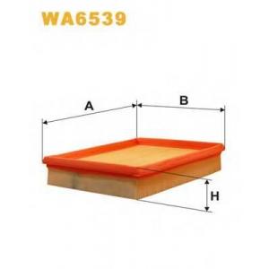 WIX FILTERS WA6539 Фильтр воздушный WA6539/AP080/2 (пр-во WIX-Filtron)