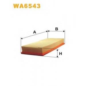 WIX FILTERS WA6543 Фильтр воздушный AUDI 100 WA6543/AP004/1 (пр-во WIX-Filtron)