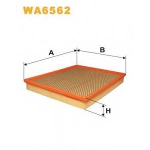 WIX WA6562 Фильтр воздушный RENAULT WA6562/AP137/1 (пр-во WIX-Filtron UA)