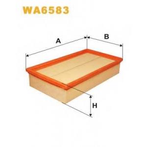 wa6583 wix Воздушный фильтр FORD TRANSIT фургон 2.5 TD (EAL, EAS)