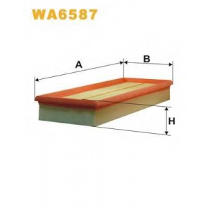 WIXFILTRON WA6587 Фільтр повітряний