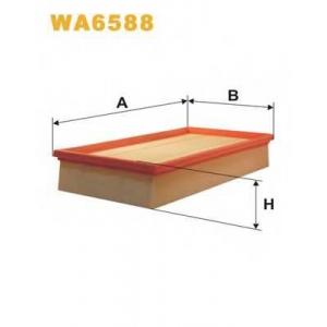 WIX FILTERS WA6588 Фильтр воздушный MB 124 WA6588/AP118/4 (пр-во WIX-Filtron)