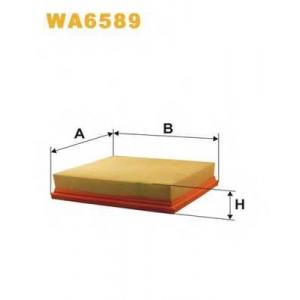WIX FILTERS WA6589 Фильтр воздушный Mercedes SLK  WA6589/118/5 (пр-во WIX-Filtron)