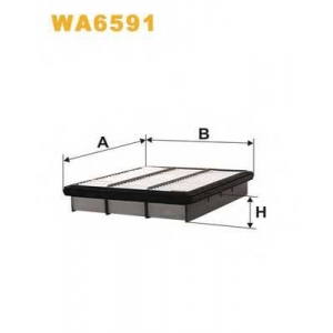 WIX FILTERS WA6591 Фильтр воздушный WA6591/172/2 (пр-во WIX-Filtron) Распродажа