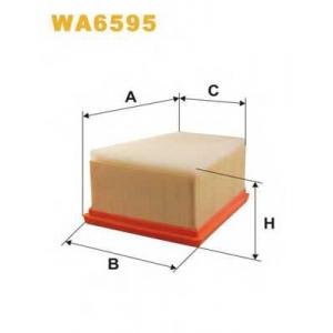 WIX FILTERS WA6595 Фильтр воздушный RENAULT LAGUNA WA6595/AP185/1 (пр-во WIX-Filtron)