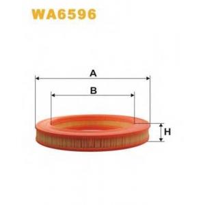 WIX FILTERS WA6596 Фильтр воздушный MB W201 WA6596/AR204/1 (пр-во WIX-Filtron)