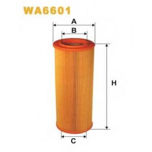 WIX FILTERS WA6601 Фильтр воздушный SAAB 9000 AR366/WA6601 (пр-во WIX-Filtron)