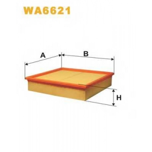 WIX WA6621 Фильтр воздушный OPEL OMEGA B WA6621/AP129 (пр-во WIX-Filtron UA)