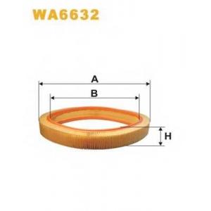 WIX WA6632 Фильтр воздушный (AR 036/1)