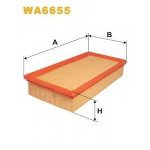 WIX FILTERS WA6655 Фильтр воздушный WA6655/AP032/1 (пр-во WIX-Filtron)
