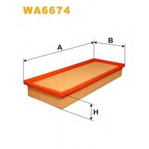 Воздушный фильтр wa6674 wix - FORD MONDEO II (BAP) Наклонная задняя часть 2.5 ST 200