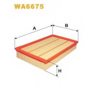 WIX WA6675 Фильтр воздушный FORD TRANSIT WA6675/AP023/3 (пр-во WIX-Filtron UA)