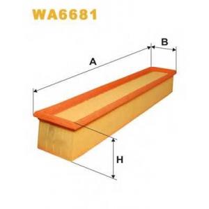 WIX FILTERS WA6681 Фильтр воздушный WA6681/AP035/3 (пр-во WIX-Filtron)
