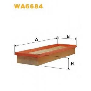 WIX WA6684 Фильтр воздушный RENAULT WA6684/AP134/2 (пр-во WIX-Filtron UA)